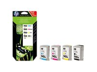 Pack de 4 couleurs 940XL original HP C2N93AE
